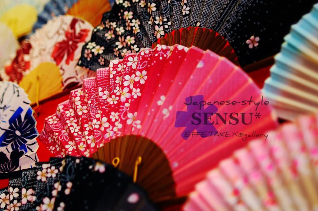 Japanese-style  SENSU