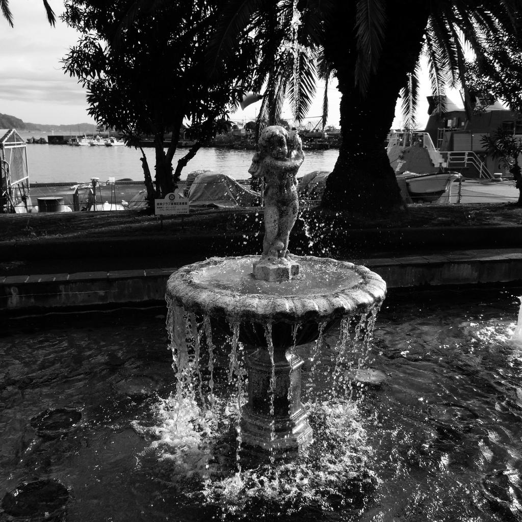 天使の噴水