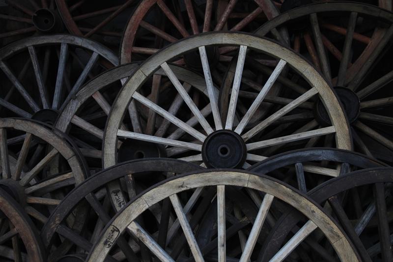 車輪の存在感