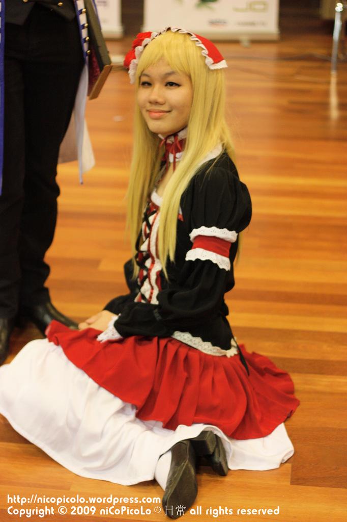 daicon 09 cosplayer