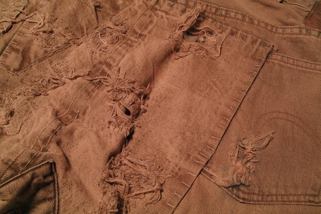 最古のジーンズを忠実に再現