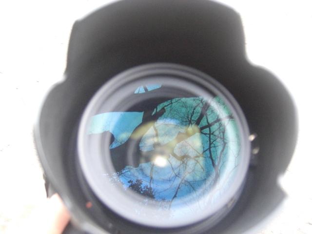 レンズに映る