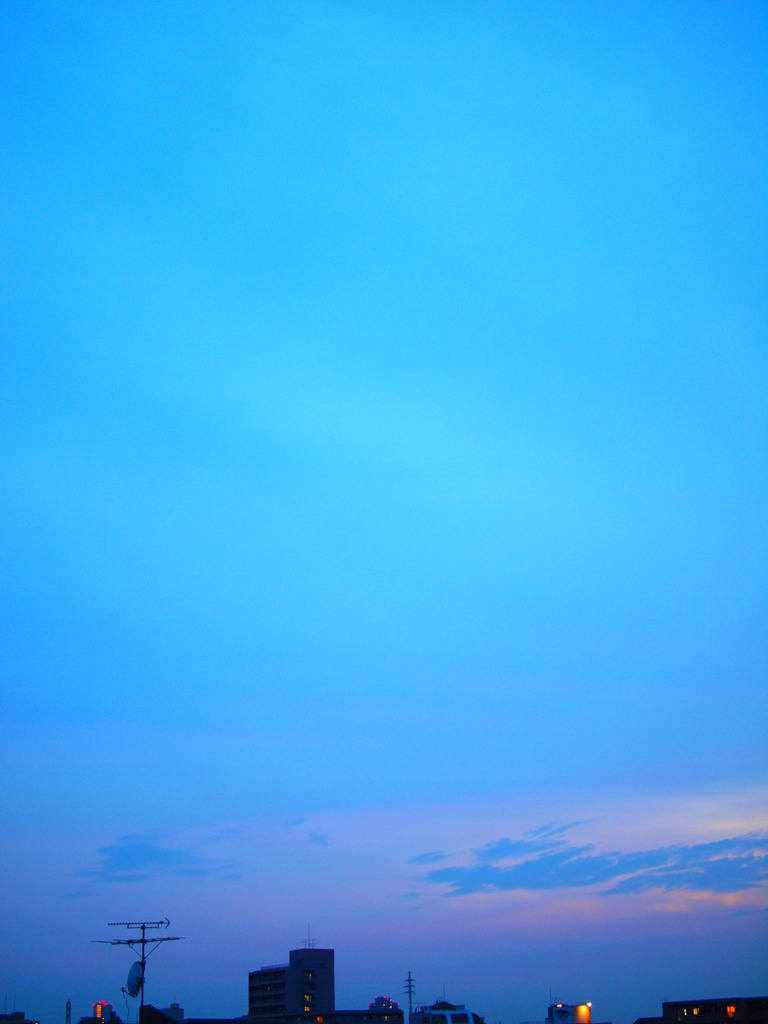 青いっぱい