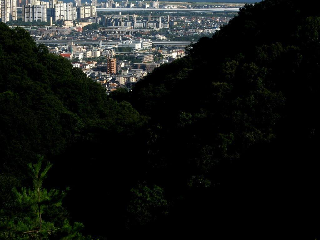山中の市街