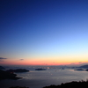 夜明け前の西備讃瀬戸