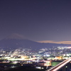 富士山麓の新東名。