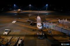 夜の羽田空港2