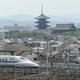 東寺と新幹線