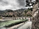 江戸風な渡月橋 #1