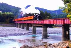 鉄橋だ~ #3 @大井川鉄道千頭駅