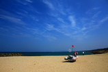 浜辺の光景