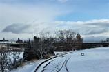 雪道散歩道 ラストシーン