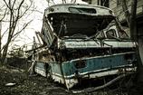 廃バス、再び...。