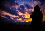 君と見た、美しい夕陽・・・