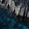 城ヶ崎の青い海