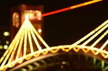 富岩運河環水公園天門橋